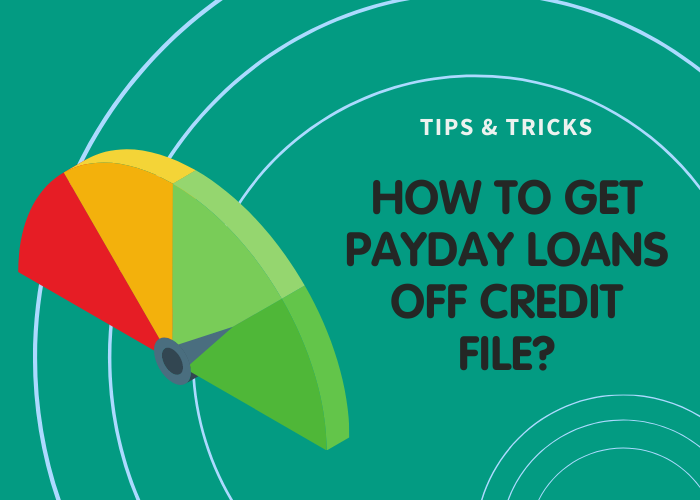 How long do payday loans stay on your credit file?