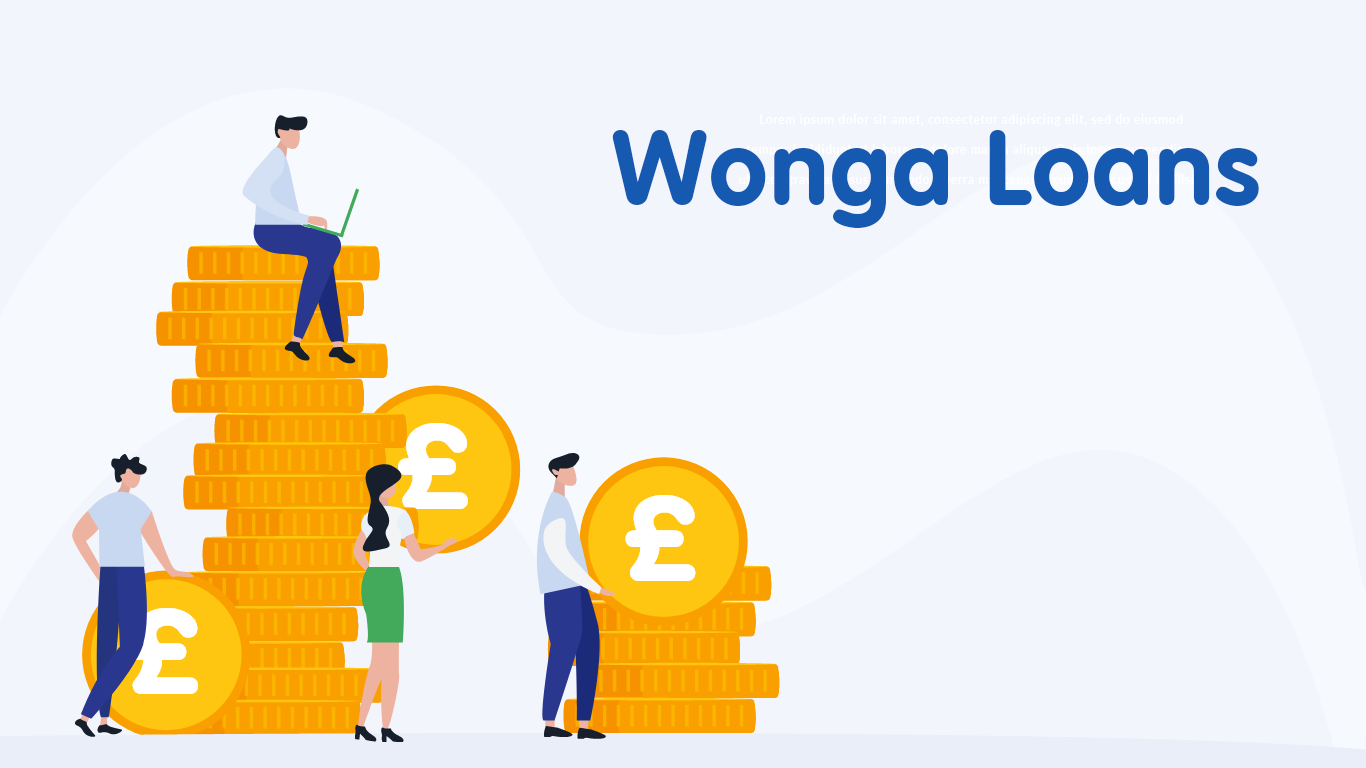 Wonga Loans - £100 - £5,000 in minutes from NowLoan.co.uk